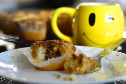 Cinnamon Swirl Coffee Cake Muffin