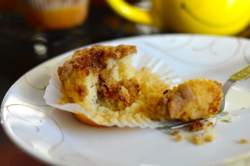 Cinnamon Swirl Coffee Cake Muffin